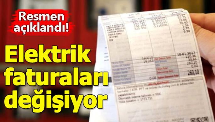 Elektrik faturası ile ilgili önemli açıklama! 'Fiyat değişiyor'