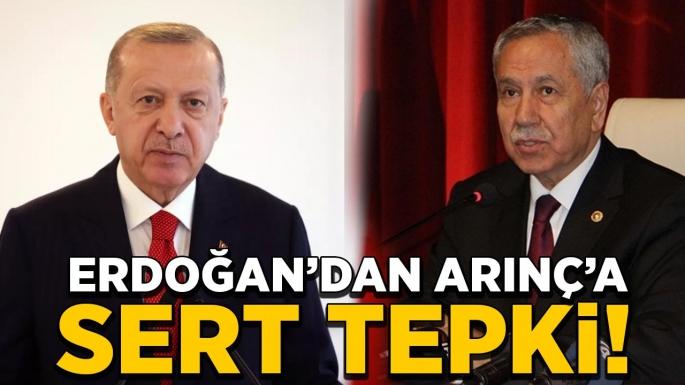 Erdoğan'dan Bülent Arınç'a sert gönderme!