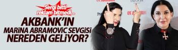 Akbank'ın Marina Abramovic sevgisi nereden geliyor? Sergi bitti reklam bitmedi...