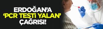 CİMER üzerinden Erdoğan'a 'PCR testi yalan' çağrısında bulunuldu!