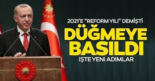 Erdoğan'dan 'reform' açıklaması! Yakında duyurulacak...