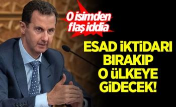 'Esad iktidarı bırakıp, o ülkeye sığınacak'