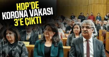 HDP'li üç milletvekili koronavirüse yakalandı!