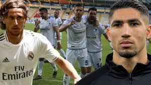 Modric ve Hakimi de Erzurumspor'u tebrik etti