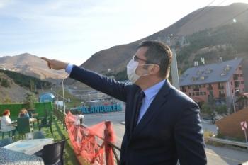 Palandöken Kayak Merkezi'ne Rusya ve Ukrayna'dan charter uçak seferleri düzenlenecek